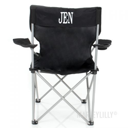 Monogrammed Tailgate Chair | Marleylilly