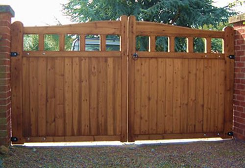 How To Build A Strong Wooden Gate Woodworking Projects