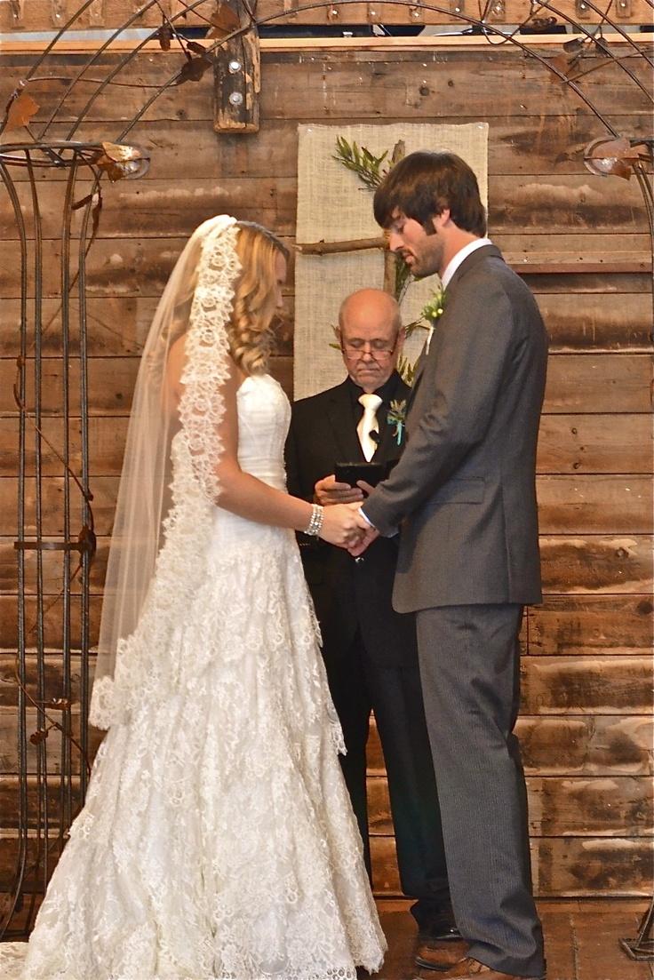 My barn wedding