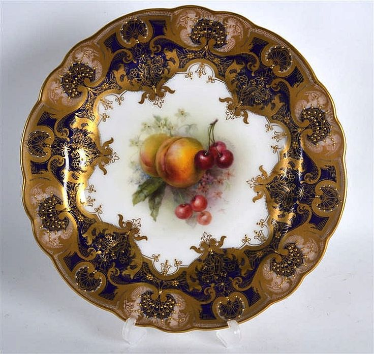 Royal Worcester Plate.