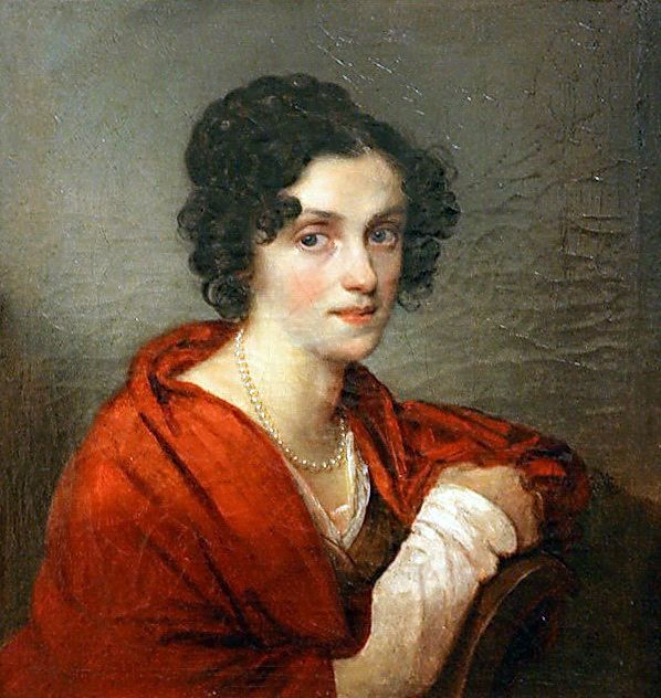 Orest Kiprensky - Anna de Sagyur, 1820