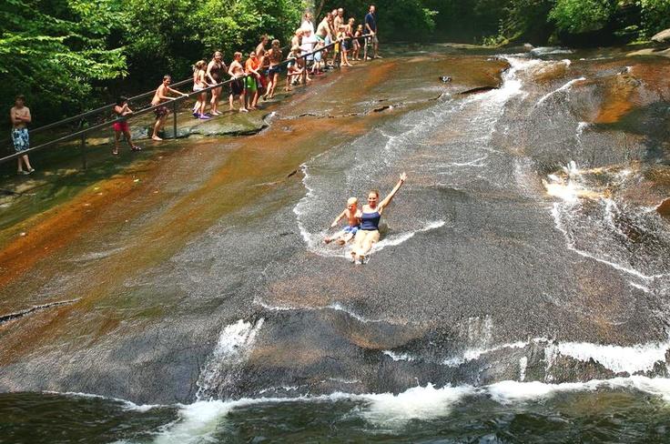 Sliding Rock Natural Water Slide North Carolina