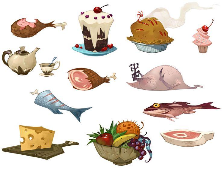 Foods - Characters & Art - WildStar