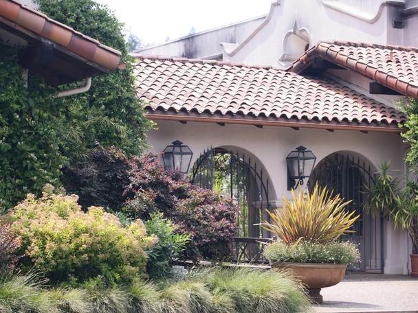 Mediterranean Spanish mission style home