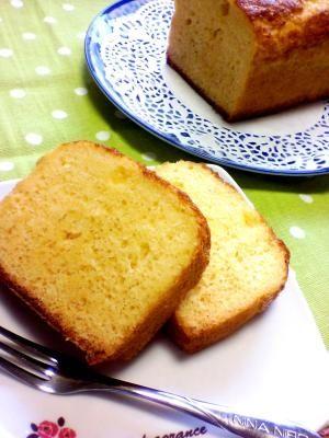 「ホットケーキミックスで簡単カステラ♪」ホットケーキミックスで作るカステラです。卵の泡立ても少なくていいので簡単です♪【楽天レシピ】