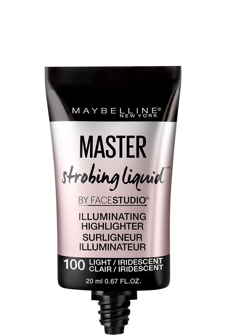 Facestudio® Master Strobing Liquid™ Surligneur Illuminateur. Un surligneur liquide qui ajoute de la brillance au visage pour une peau éclatante et des traits rehaussés.