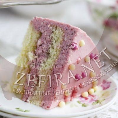 Бисквитный торт с клубничным суфле - домашние рецепты с фото