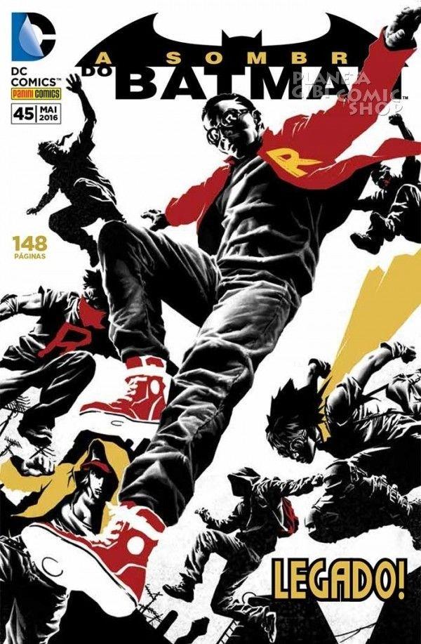 LIGA HQ - COMIC SHOP A SOMBRA DO BATMAN (REBOOT) #45 PARA OS NOSSOS HERÓIS NÃO HÁ DISTÂNCIA!!!