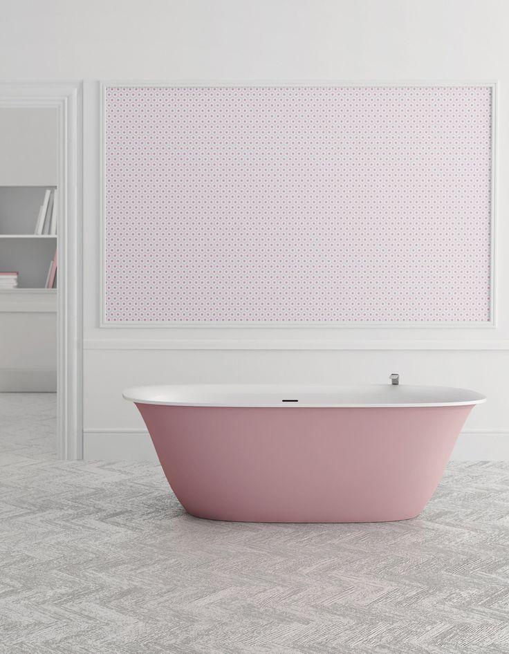 Baignoire design rose - Zoom sur les plus belles baignoires design - Elle Décoration