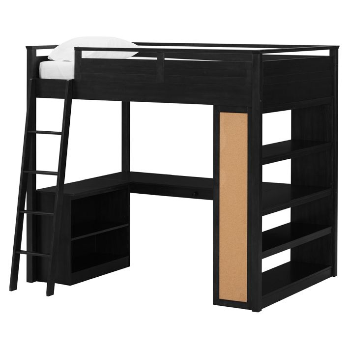 Costco 39 s pottery barn look alike loft bed in for Furniture 123 bunk beds