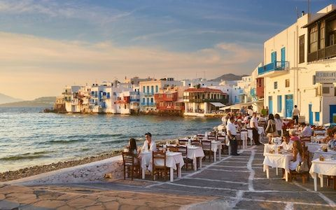 mykonos restaurants