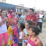 """Chicos de San Fernando del Valle de Catamarca participaron del Programa """"Te juego una carrerita"""""""