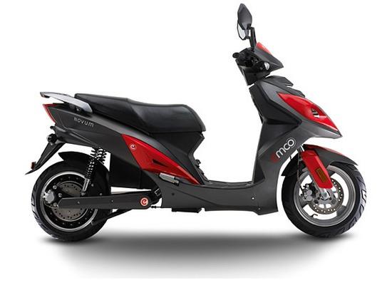 emco Novum, een stoere elektrische scooter