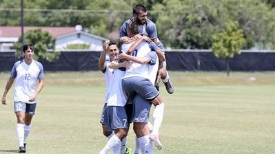 StMU Men's Soccer upsets No. 3 seed West Texas A&M