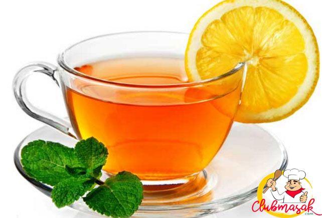 Resep Hidangan Teh herbal Lemon Tea Hangat, Teh Herbal Untuk Diet, Club Masak
