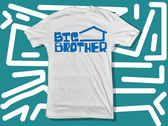 Big Brother Logo a 100 pre shrunk cotton branded by starwayshop, $22.50