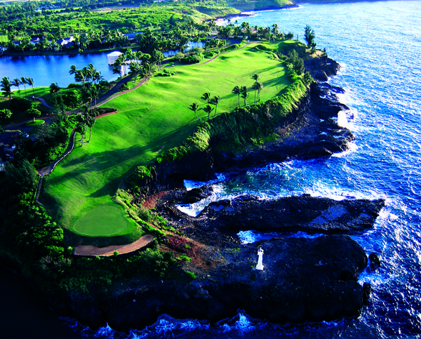 Would love to golf in Hawaii.