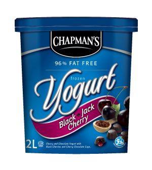 Black Jack Cherry Frozen Yogurt