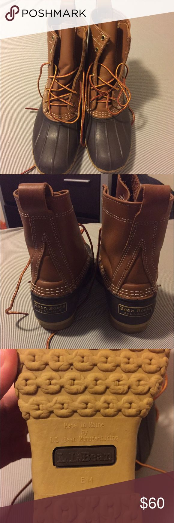 """LL Bean Boots Size 8 Tan/Brown Women's LL Bean Boots 8"""" Size 8, fits like a 9, Tan/Brown color L.L. Bean Shoes Winter & Rain Boots"""