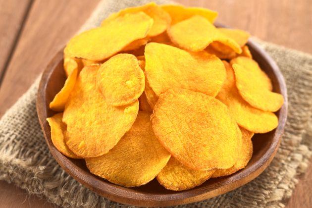 Turkey Tenders & Sweet Potato Chips