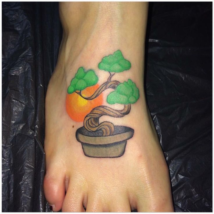 Bonsai Tattoo Meaning: 25+ Best Bonsai Tattoo Simple Images By Tattoomaze On