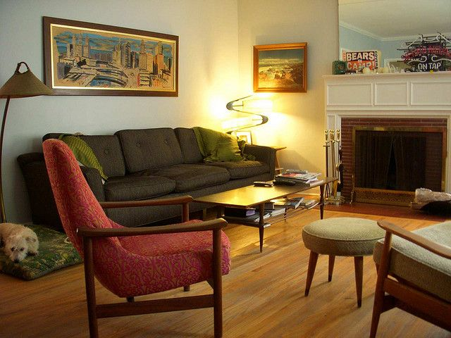 Mid Century Living Room By Snappy Shop, Via Flickr Part 65
