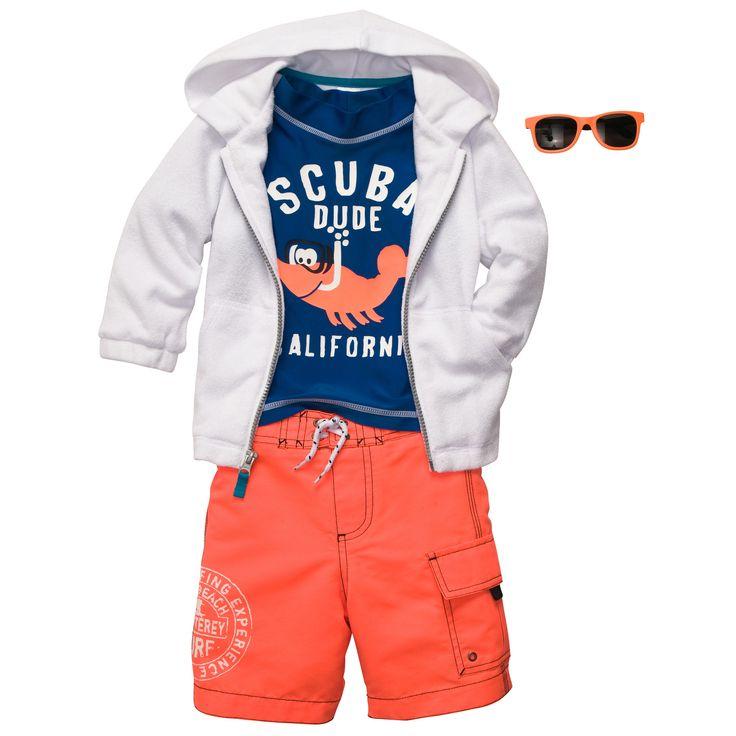 Scuba Dude | Baby Boy Swimwear
