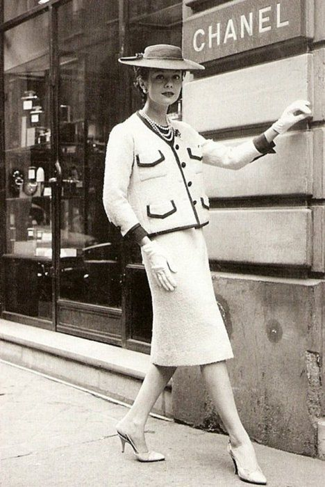 I like to think if I had been born in the 1920s I would have worn classic Chanel.
