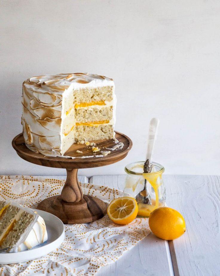 Lemon Meringue ///   CAKE ALL DAY   Pinterest   Lemon Meringue Cake ...