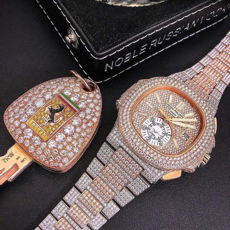Diamonds On Me Dancing Patek 5980 Fully Flooded Visit Our ...