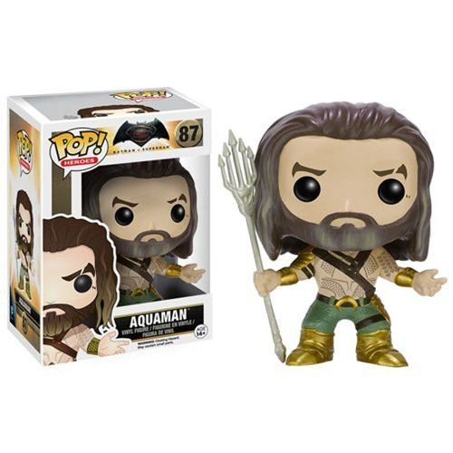 Funko Pop Heroes Batman vs Superman Aquaman Vinyl Figure #87