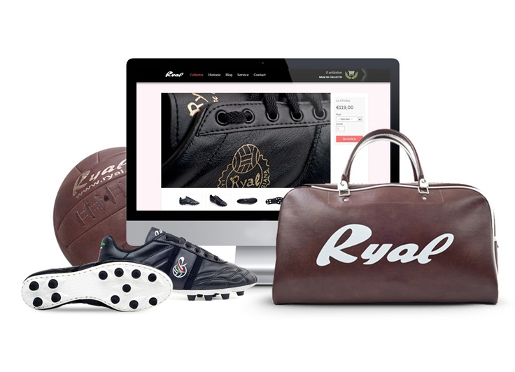 Ryal - Handmade football boots -  www.ryalshop.com (In English) and www.ryal.nl (in Dutch)