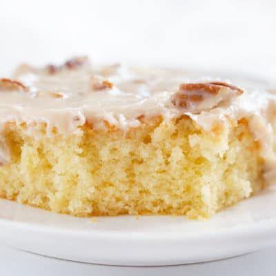 Mandel-Pekannuss-Blatt-Kuchen   Ich bin Bäcker   – Food & Drink Recipes