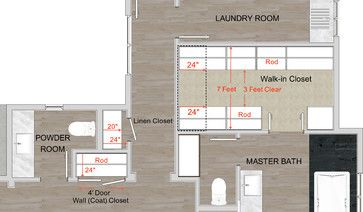 How To Get Better Closets - contemporary - floor plan - san francisco - Steven Corley Randel, Architect