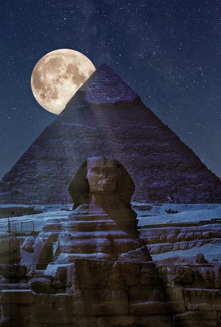 The Dark Side of the Pyramid - Cairo - Egypt