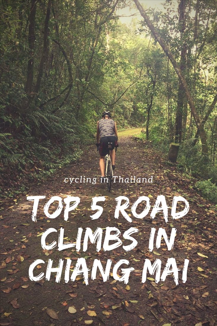 These are the best cycling climbs in Chiang Mai, Thailand. The hardest being the infamous Doi Inthanon.