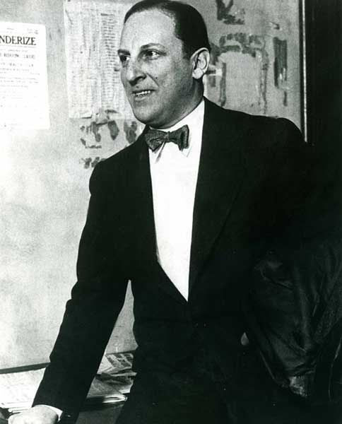 Arnold (The Brain) Rothstein -- noted for financing all the nightclubs, bootlegging, etc. for the mob. Ended up murdered. Also Fixed the 1919 World Series.