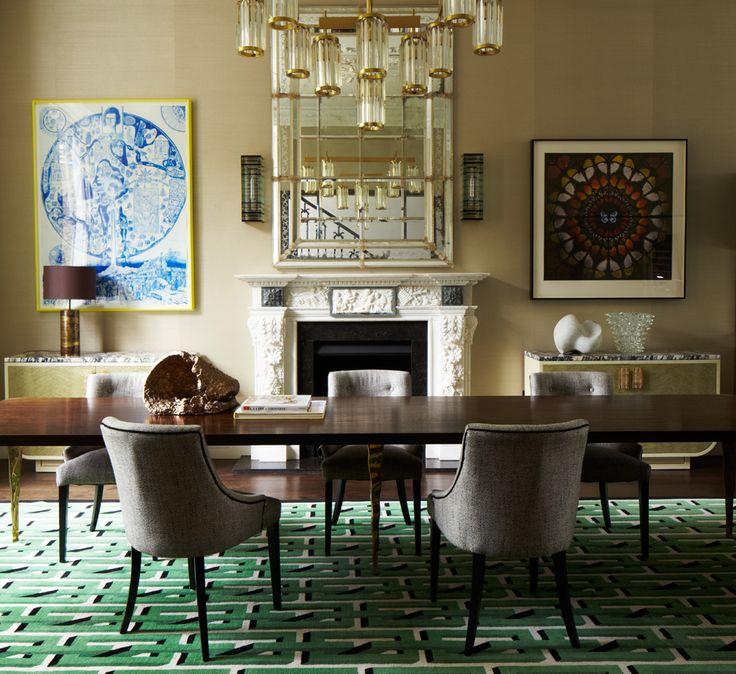 Habitually Chic®: Pembridge House-  Green and chandy