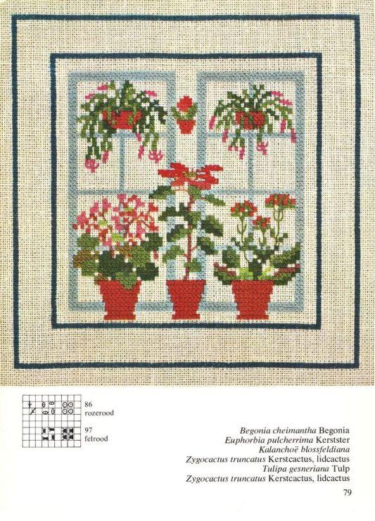 Gallery.ru / Фото #44 - Cross Stitch Pattern in Color - Mosca