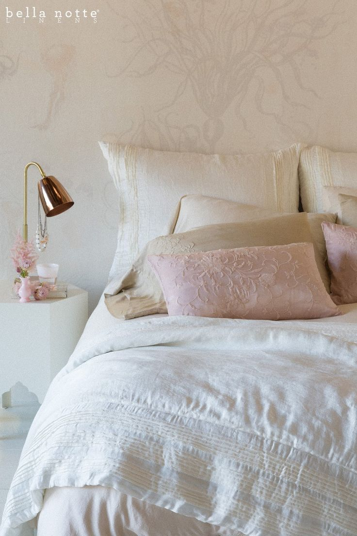 Where does joanna gaines buy her bedding - Arielle And Josephine Combine To Create A Feminine And Tailored Bedroom Design