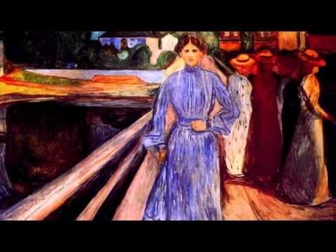 Edvard Munch, pintor expresionista, nació en Loten (Noruega) en 1863. Tuvo una infancia difícil, lo cual marcó su carácter desequilibrado, que sería la base ...
