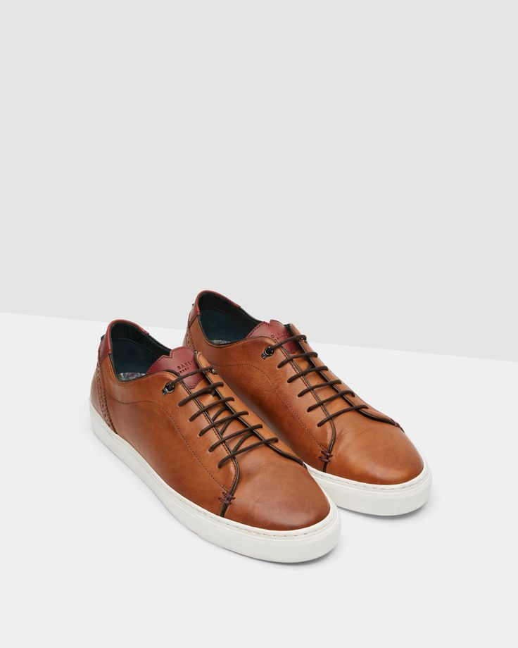 Quality shoes and boots in hard leather, suede and canvas, finished with Ted  Baker branding, ensure the quintessential gentlemen is always well turned  out.