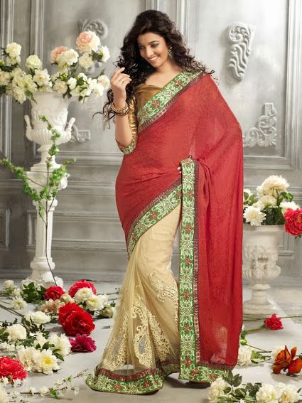 2322.  Georgette Saree   INR 3900/-
