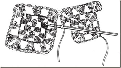 Рекомендации по соединению мотивов, пряжи и крючков для вязания пледа