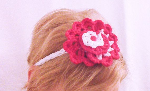 Hey, I found this really awesome Etsy listing at https://www.etsy.com/listing/183989801/red-crochet-rose-headband-flower