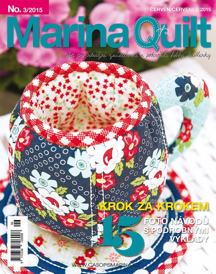 MARINA QUILT červen / červenec 2015; titulní strana