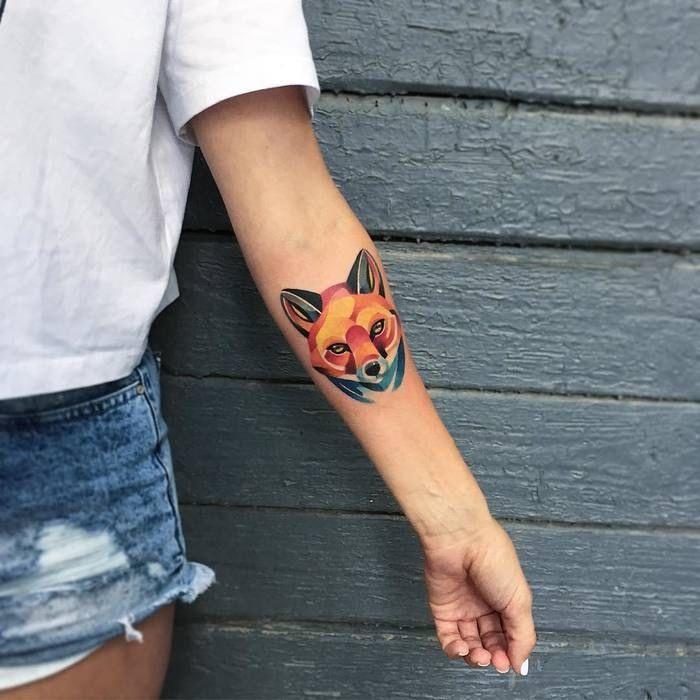 la signification et l 39 histoire du tatouage renard tatouages renard pinterest signification. Black Bedroom Furniture Sets. Home Design Ideas