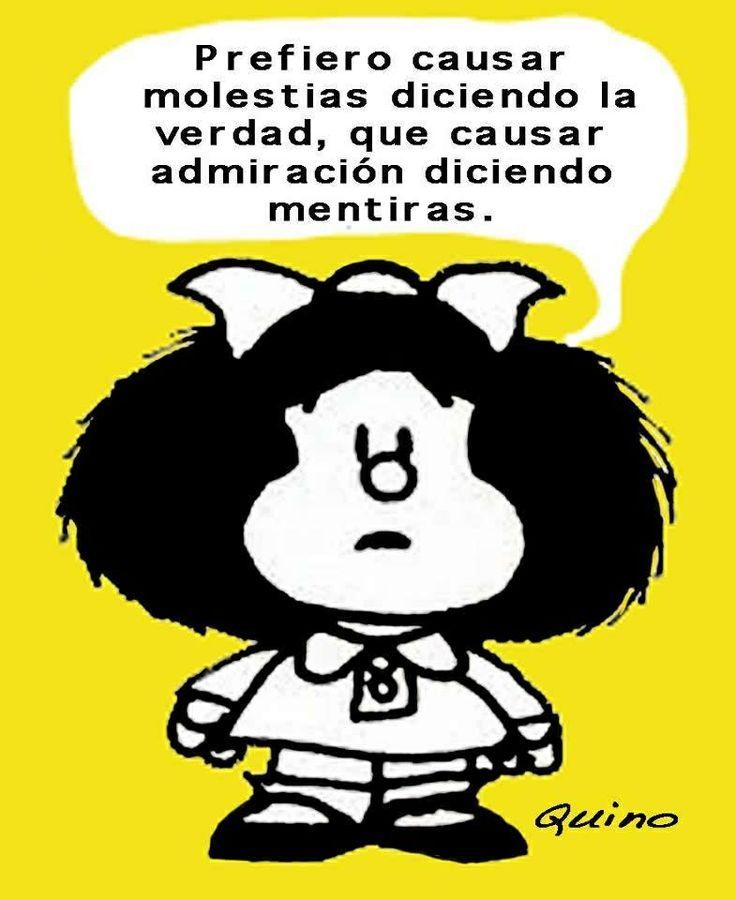 Mafalda // <3 // Mensagem // Espanhol // Sincera