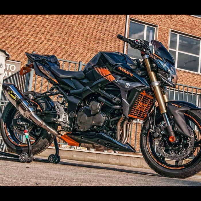 GSR 750 Bike Design.