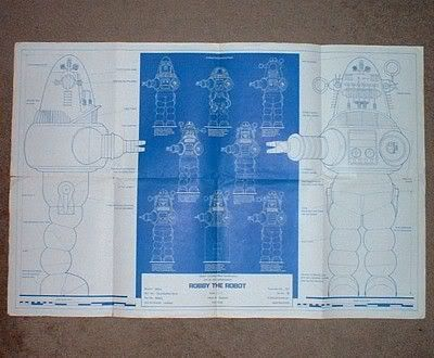 10 best projects robby the robot images on pinterest robot blueprints malvernweather Image collections